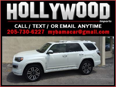 2016 Toyota 4Runner Limited (White)