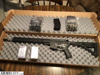 For Sale: PSA .223 Wylde AR-15 w/mags and ammo