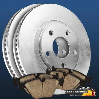 Buy 2 Front Premium Blank OE Replacement Brake Rotors and 4 Ceramic Pads F180130 motorcycle in Chicago, Illinois, US, for US $61.95