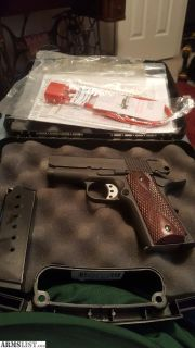 For Sale/Trade: American tactical 1911, 45 caliber with 2 magazines and original case. 3 inch barrel. Like New