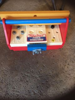 Fisher price tool chest