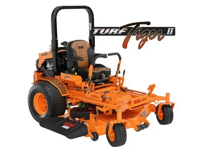 2019 SCAG Power Equipment Turf Tiger II Zero-Turn Briggs-Vanguard EFI 61 in. 37 hp Commercial Zero Turns Glasgow, KY
