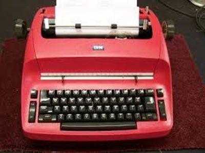 IBM Selectric II Red perfect working condition/mint condition correctable typewriter