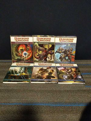 Dungeons & Dragons Lot 4th edition