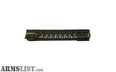 For Sale: Geissele Automatics, MK4, Super Modular Rail, 13 , MLOK, includes Stainless Steel Gas Block, Black 05-278B