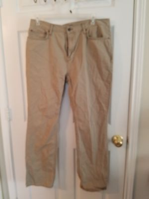 Old Navy Straight Khaki Jeans 36X32