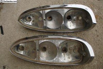 Chrome tail light bases