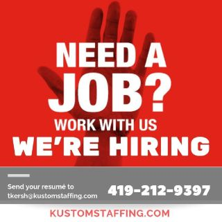temp agencies in my area Defiance Ohio Kustom Staffing
