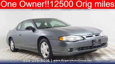 Used 2005 Chevrolet Monte Carlo 2dr Cpe