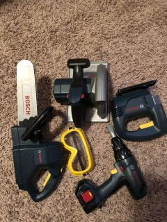 Bosch tool toy set- great condition!