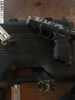 For Sale/Trade: Springfield XP9 Digital Camo 9mm w/ 3 Magazines Case & Mag Holster