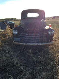 1952 Chevy 1 Ton (project truck)