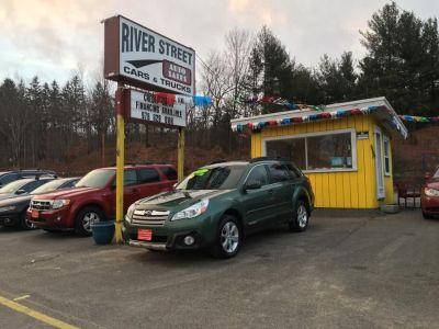 2013 Subaru Outback 2.5i Limited (Cypress Green Pearl)