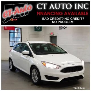 2018 Ford Focus SE Hatch (Oxford White)