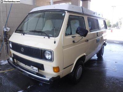 1984 Vanagon Camper Van