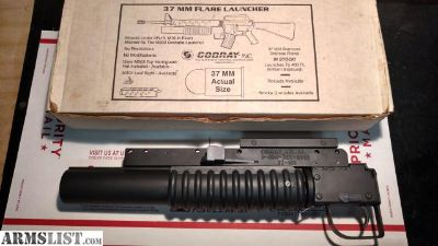 For Sale: Cobray 37mm M203 Flare Launcher with Original Box