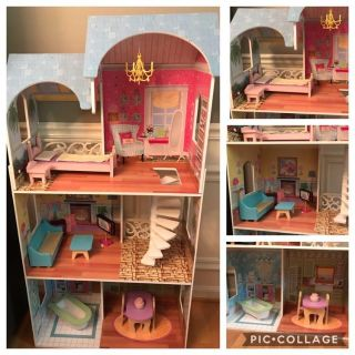 KidCraft Dollhouse and furniture