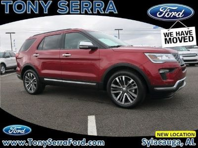 2018 Ford Explorer Platinum (Ruby Red)