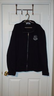 St. Brother Andre Catholic High School Men s Zippered Sweatshirt ~ Sz. XL (Extra Large) ~ Navy Blue and White Logo ~ New Without Tags ~