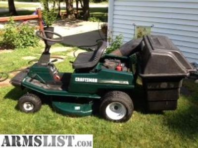 For Sale/Trade: craftsman riding lawnmower