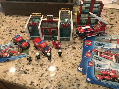 Retired LEGO City Fire Station Set