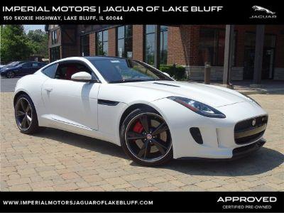 2015 Jaguar F-Type V6 S Coupe (Polaris White)