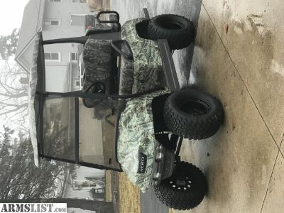 For Sale/Trade: 2006 AERO Custom Lifted Camo Golf Cart LOADED