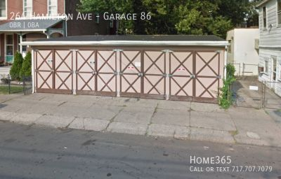 1 Convenient and useful Garage available for lease. (264 Hamilton Ave, Trenton NJ)