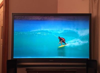 Sony 55 projection tv