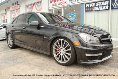 2013 Mercedes-Benz C-Class C63 AMG (Magnetite Black Metallic)