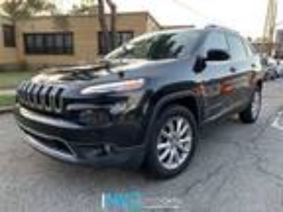 $16880.00 2016 JEEP Cherokee with 52684 miles!