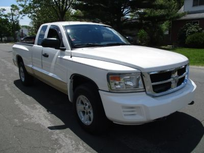 2008 Dodge Dakota SXT (White)