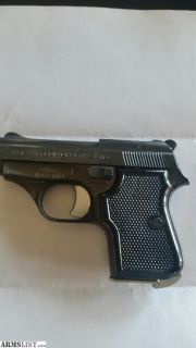 For Sale: Tanfoglio 25 cal pistol
