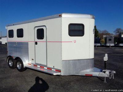 2011 Adam Excursion 2 horse trailer