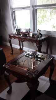 Sofa table and side table