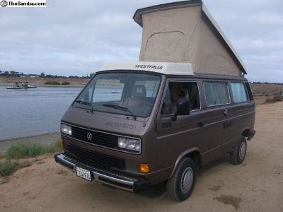 1986 VW Vanagon GL Westfalia syncro