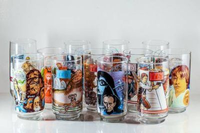 STAR WARS BURGER KING GLASSES FULL SET 12