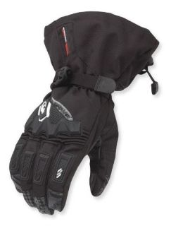 Buy Coldwave Avalanche Textile Snowmobile Gloves Black SM motorcycle in Holland, Michigan, United States, for US $72.20