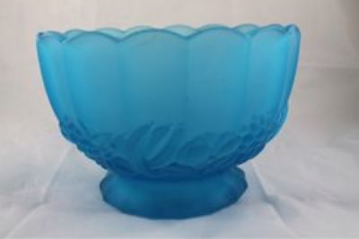 GLASSWARE: serving plate platters and bowls