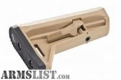 For Sale: MAGPUL STOCK MOE SL-K AR15 CARBINE MIL-SPEC TUBE FDE