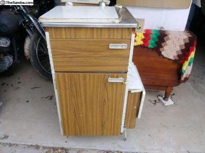 sink cabinet, spice rack, storage, ice box