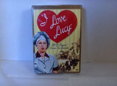 I Love Lucy The Complete 2nd Season DVDs Unopened