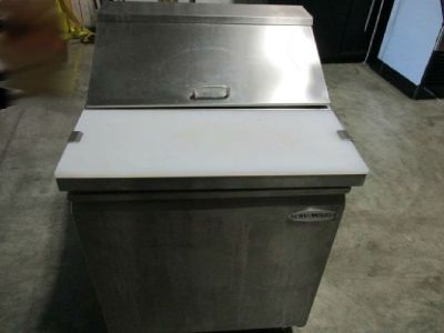 Serv-Ware 1-Door Refrigerated Prep Table RTR#7063039-01