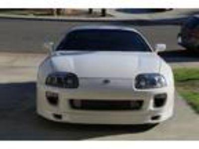 1994 Toyota Supra Twin Turbo White