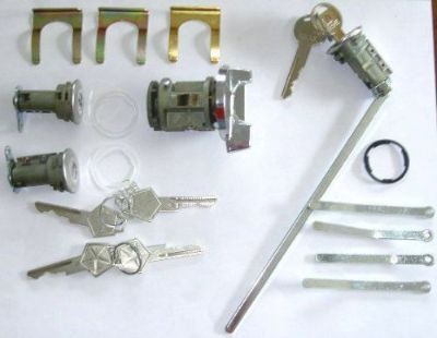 Buy Ignition/Door/trunk Lock Set 1972 dodge challenger Charger Standard KEY Mopar motorcycle in Madera, California, United States, for US $47.00