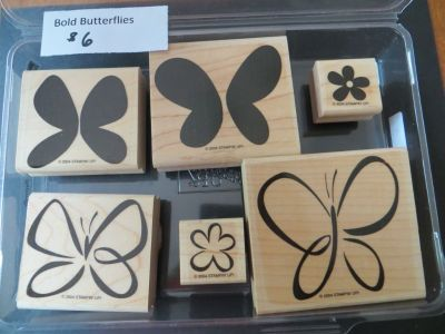 Stampin up Bold Butterflies stamp set