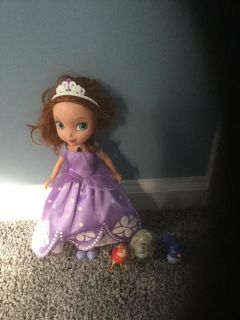 Disney's Sofia the First Talking Doll and Friends