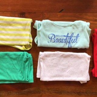 5 Ribbed, Fitted Old Navy Tanks