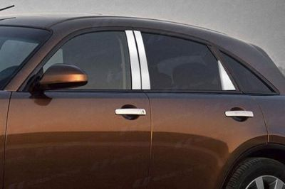 Find SES Trims TI-P-134 03-08 Infiniti FX35 Door Pillar Posts Window Covers Trim motorcycle in Bowie, Maryland, US, for US $63.70