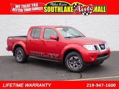 2016 Nissan Frontier PRO-4X (Lava Red)